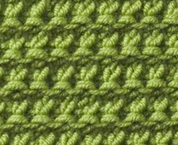 Knitting Pattern Stitch Library : Knitting Stitch Library - Granite Stitch